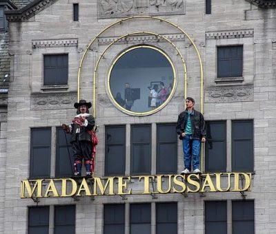 Madame Tussauds musée de cire à Paris