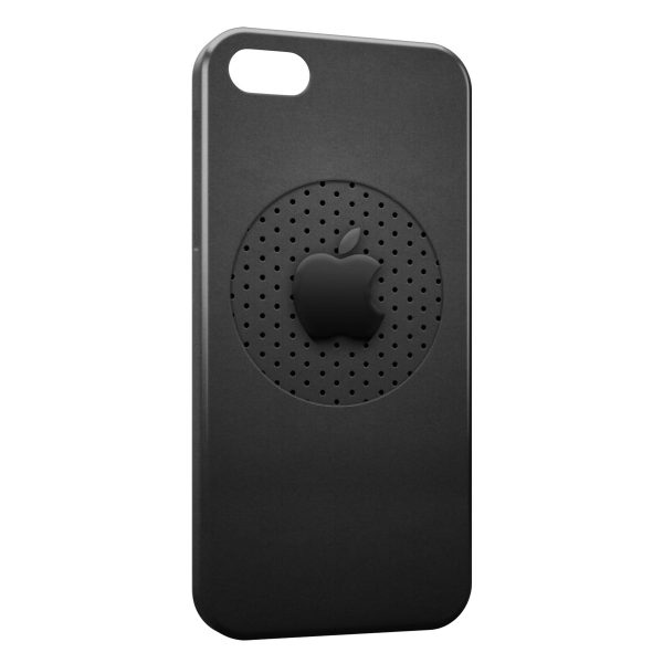 Coque iPhone 5 et 5S Apple Black Style